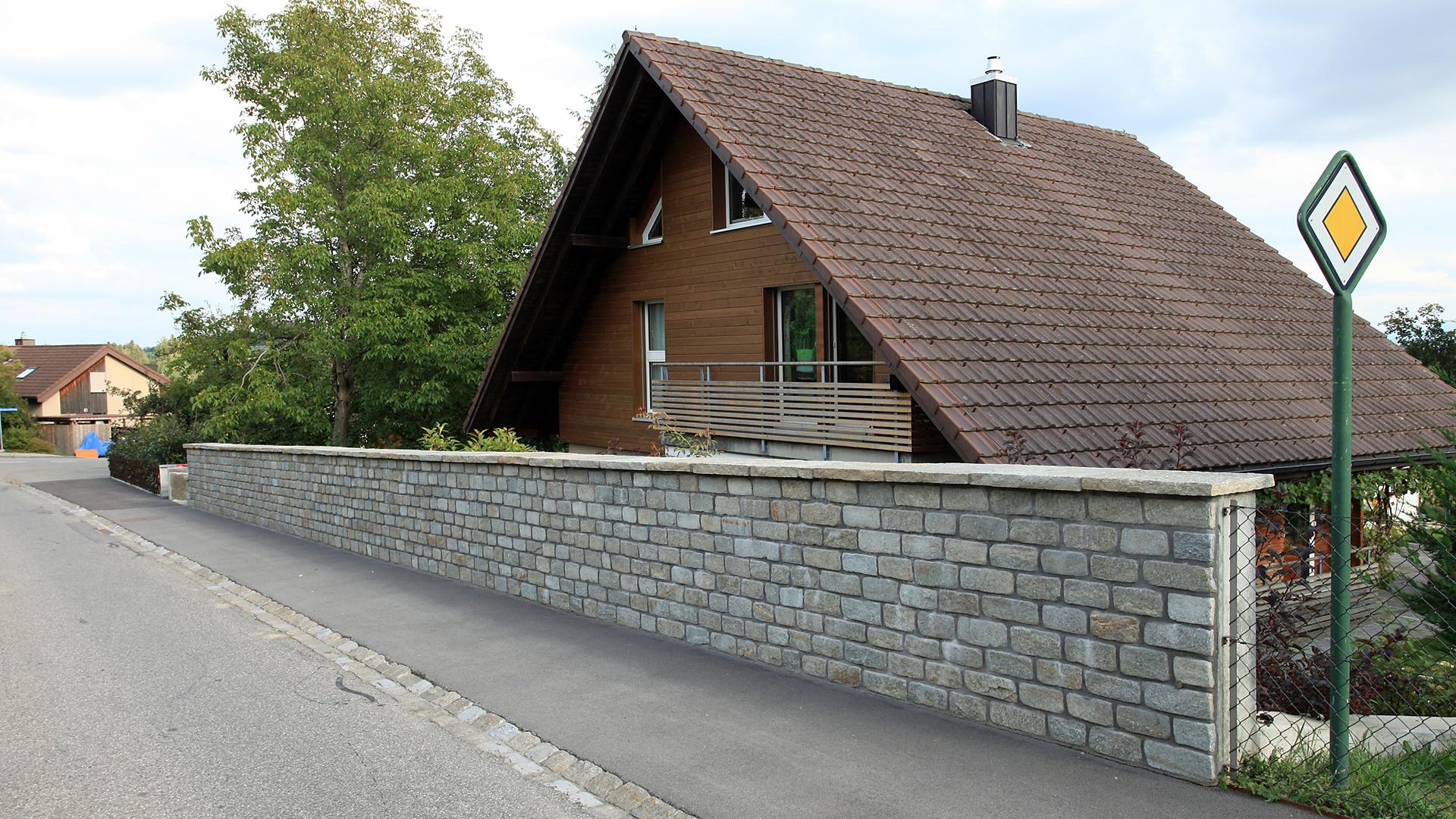 Verkleidung Betonmauer mit tolle design für ihr wohnideen